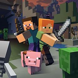 Knižky pre drtičov Minecraft-u