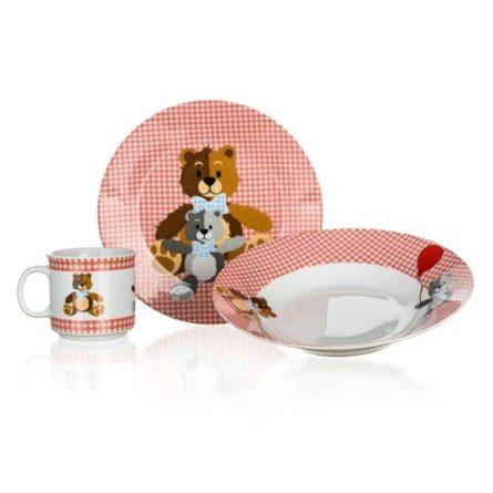 banquet-3dielna-detska-sada-medvedik-cervena-1full