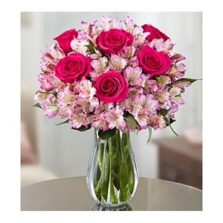 Kytice z ruží - donáška