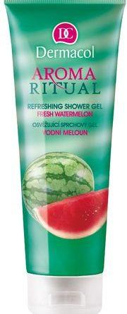 Kozmetika s vôňou melónu - parfémy s vôňou melónu – krémy s vôňou melónu - sprchové gély s vôňou melónu - produkty s vôňou melónu - Dermacol Aroma Ritual Shower Gel Watermelon 250ml Sprchový gél   W Vodní meloun