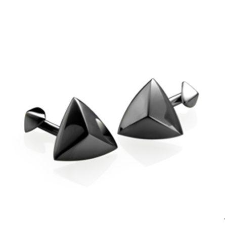 Manžetové gombíky - darček pre muža -darček k zásnubám - svadobný darček pre partnera - Storm Manžetové gombíky Storm Tryg Slate