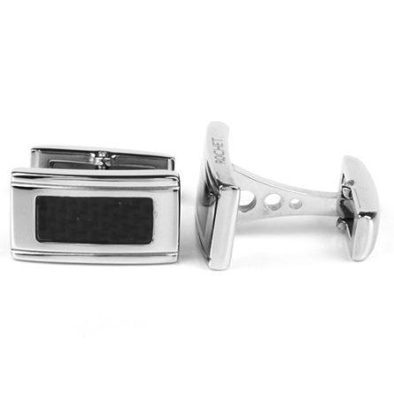 Manžetové gombíky - darček pre muža -darček k zásnubám - svadobný darček pre partnera - ROCHET Manžetové gombíky ROCHET KVSWC00-677