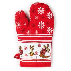 Chňapka s vianočným motívom, Sobíky