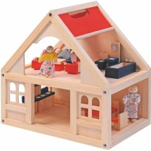 Drevený domček pre bábiky Woody