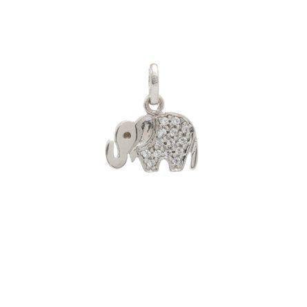zlaty-privesok-biele-slonica