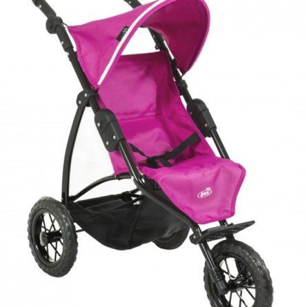 Kočíky pre bábiky -  vytúžený darček pre malé dievčatko - BRITAX - Kočík pre bábiky BOB JOGGER - Col. Hot Pink