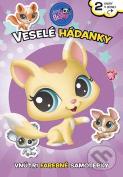 Littlest Pet Shop – Veselé hádanky - Samolepky pre deti