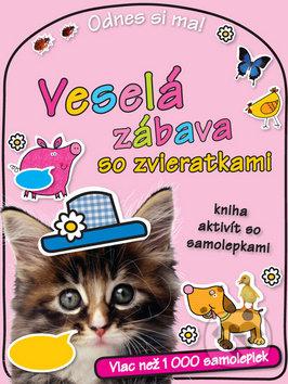 Veselá zábava so zvieratkami - Samolepky pre deti