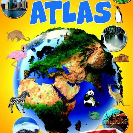 Môj prvý atlas - Samolepky pre deti