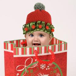 Darček k Vianociam bábätká