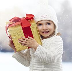 Darček k Vianociam - deti