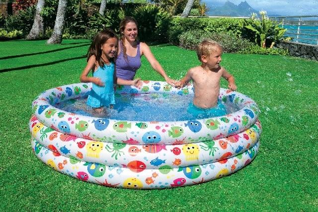 cd1a5656a9 INTEX – detský nafukovací bazén 168x40cm