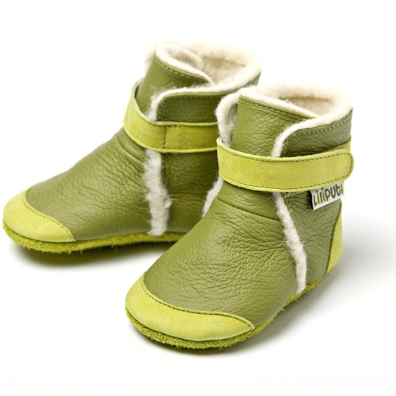 0d7188d72358 LILIPUTI - Čižmičky Himalaya green - veľkosť S (6-12 mesiacov ...