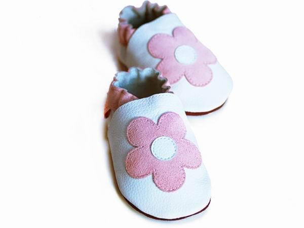 bc9252da65f1c LILIPUTI - Topánky biele s kvetinkami - veľkosť M (12-18 mesiacov ...