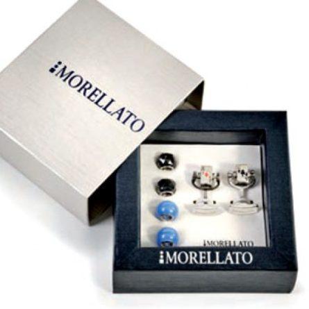 Manžetové gombíky - darček pre muža -darček k zásnubám - svadobný darček pre partnera - MORELLATO Manžetové gombíky Morellato KVSWCZR5