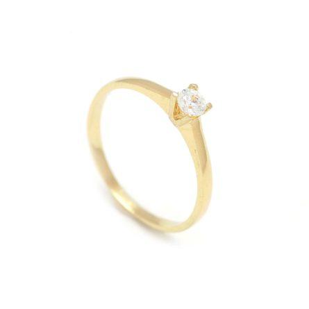 Zásnubný prstienok - prstienok k výročiu svadby - prstienok pri narodení dieťatka - Zlatý zásnubný prsteň COSMOS 2PZ00114