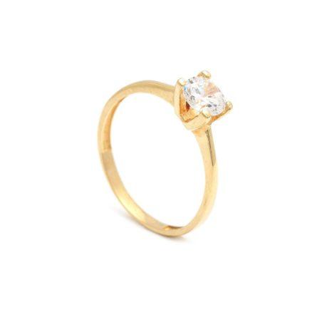 Zlatý zásnubný prsteň DAISY 2PZ00118 - DARČEKOVÝ PORADCA 2cbc7990aa9