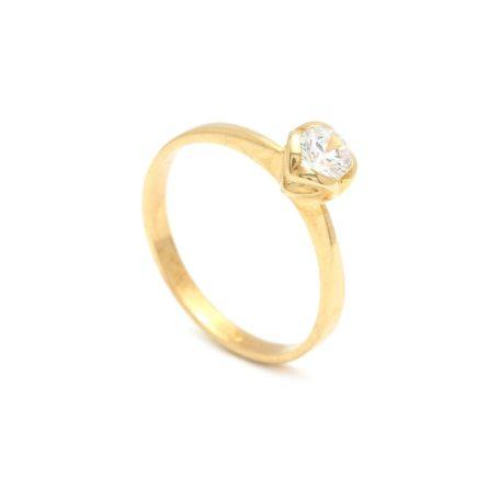 Zásnubný prstienok - prstienok k výročiu svadby - prstienok pri narodení dieťatka - Zlatý zásnubný prsteň PHYLLIDA 2PZ00185