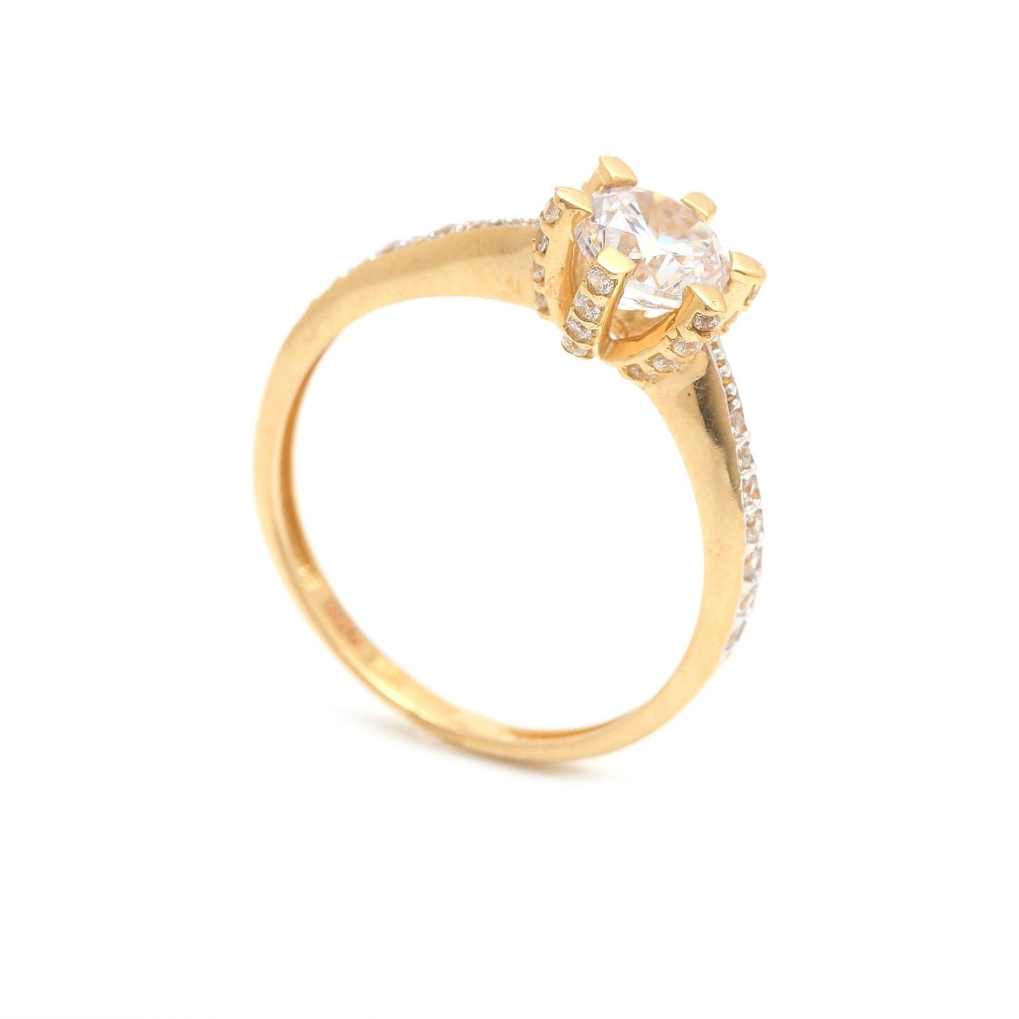 Zásnubný prstienok - prstienok k výročiu svadby - prstienok pri narodení  dieťatka - Zlatý zásnubný prsteň 10199cb04f3