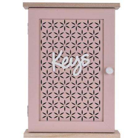 Skrinka na kľúče Trento ružová