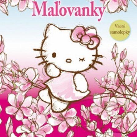 Hello Kitty: Maľovanky - Samolepky pre deti