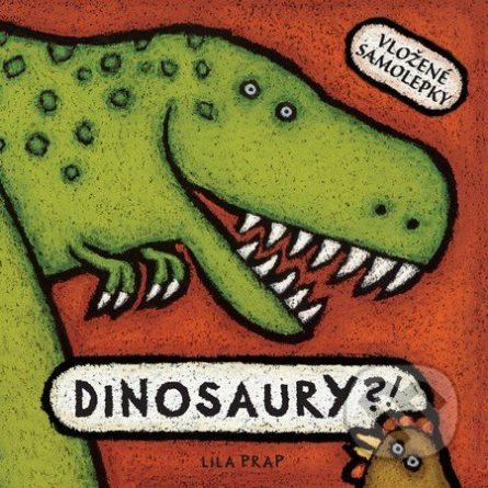 Dinosaury?! - Samolepky pre deti