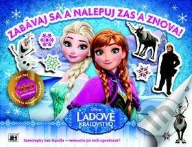 Ľadové kráľovstvo - Zabávaj sa a nalepuj zas a znova! - Samolepky pre deti