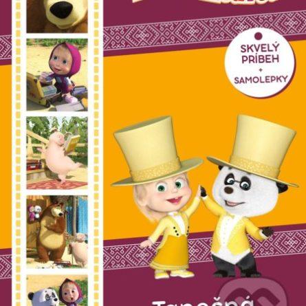 Máša a medveď: Tanečná horúčka - Samolepky pre deti
