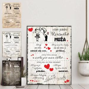 personalizovaný darček, INSPIO tabuľka, darček pre muža, darček pre otca, darček pre ocka, darček pre ocina, darček pre manžela, darček na deň otcov, darček ku dňu otcov