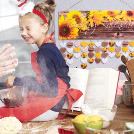 Rodinný kalendár - Kalendár so sviatkami rodiny - Darček pre meminu - darček pre svokru - Darček pre kolegyňu - Darček pre kamarátku - Darček pre setru