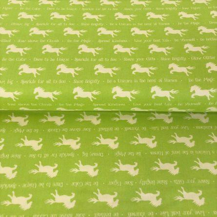 Bavlnená látka PARTY LIKE A UNICORN Unicorn silhouettes green - lapac snov jednorozec -  tricko jednorozec -  sponky jednorozec -  plavacie kleso jednorozec -  nafukovacka jednorozec -  postelna bielizen jednorozec -  ruzovy jednorozec -  pyzamo jednorozec -  jednorozec ja zloduch -  jednorozec po anglicky -  ja zloduch jednorozec -  lapac snov unicorn -  tricko unicorn -  sponky unicorn -  plavacie kleso unicorn -  nafukovacka unicorn -  postelna bielizen unicorn -  ruzovy unicorn -  pyzamo unicorn -  unicorn ja zloduch -  unicorn po anglicky -  ja zloduch unicorn