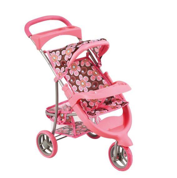 Kočíky pre bábiky -  vytúžený darček pre malé dievčatko - BINO - 82920 Kočík pre bábiky ružový