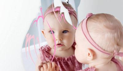 zrkadla do detske izby, nalepky na stenu do detskej izby